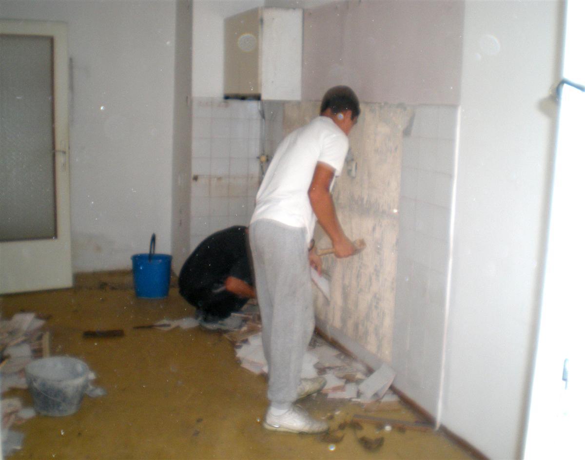rušenje i odvoz šuta