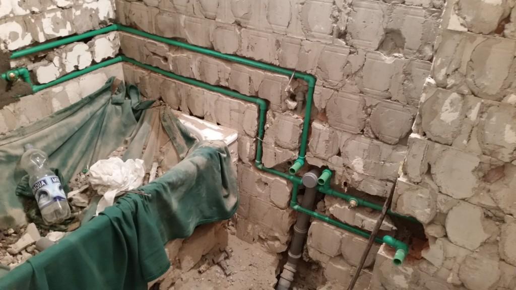adaptacija stana kanalizacija vodovod plocice